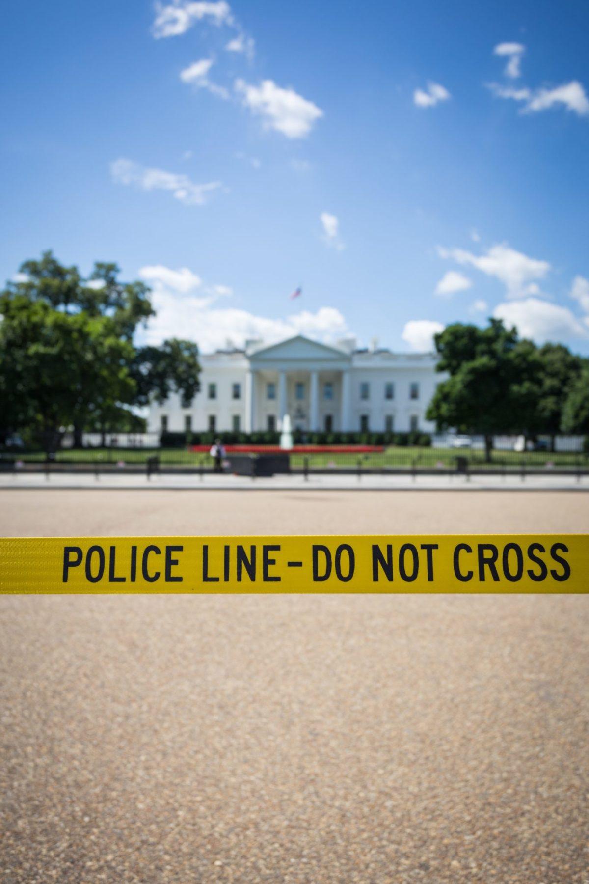 """""""POLICE LINE - DO NOT CROSS"""""""