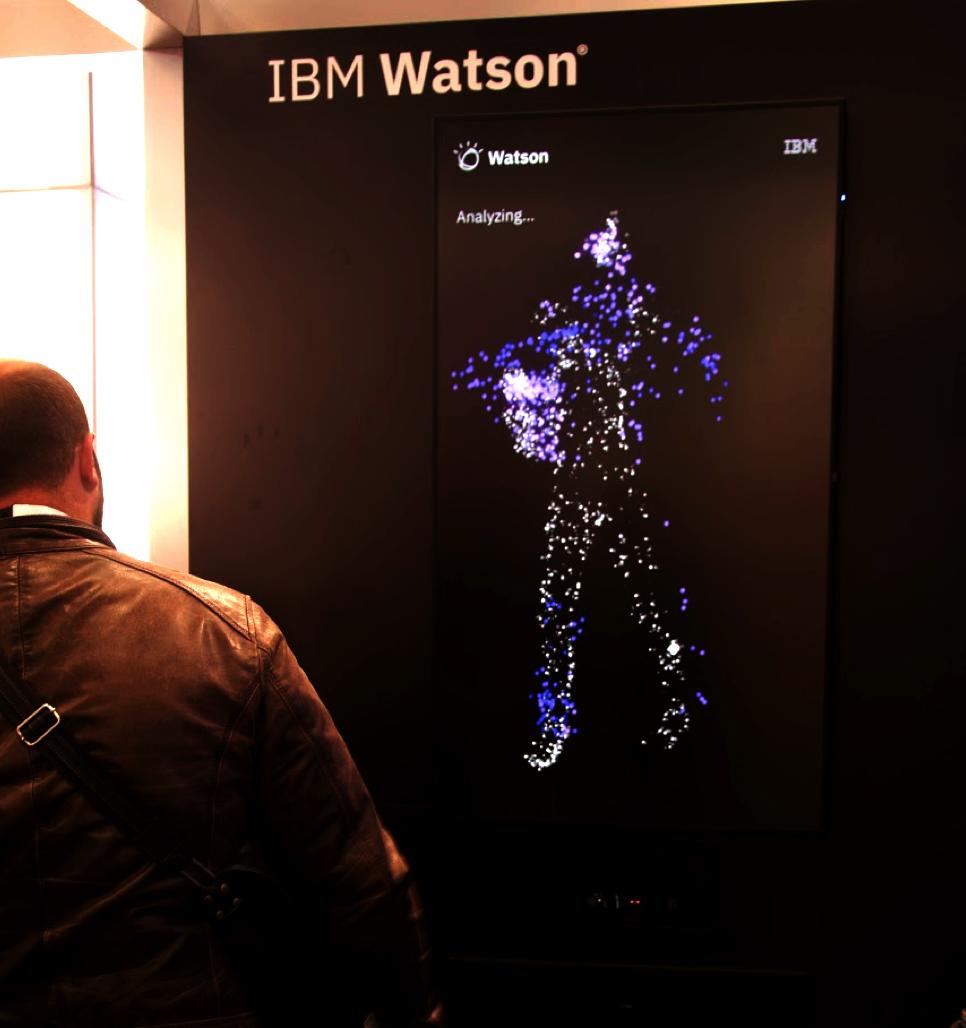 IBM Watson : Détection de la silhouette d'un individu