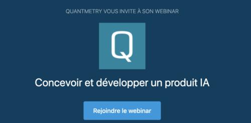 Wébinaire AI Product Quantmetry